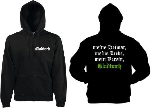 world-of-shirt Herren Kapuzenjacke Gladbach Ultras meine Heimat -
