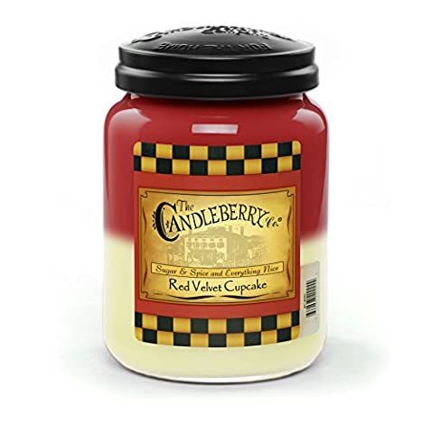 Red Velvet Cupcake - Large Jar Candle (26oz)