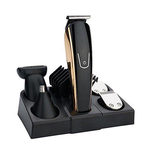 Homme et femme polyvalent électrique multifonctionnelle charge intelligente Barbier shinto électrique Push cisailles ménage ensemble couteau à raser visage cheveux outil tondeuse à cheveux nez