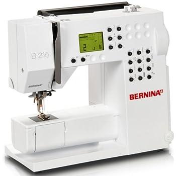 Bernina Nähmaschine B 215: Amazon.de: Küche & Haushalt