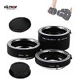 Viltrox DG-C AF Macro - Tubos de extensión para Canon EF/EF-S (Objetivo de 35 mm, 12 mm, 20 mm y 36 mm)