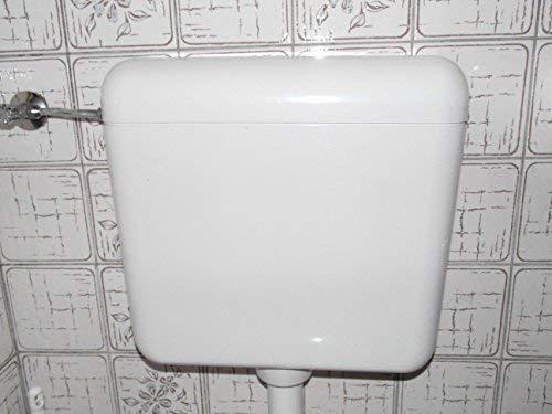 Toto 8 (TOTO 6-9 Liter Aufputz Spülkasten mit Wasserspartaste weiß)