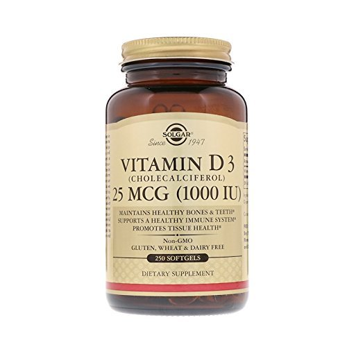 Vitamin D3 (Cholecalciferol) 1000 IU 250 Softgels