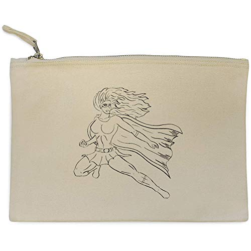 Azeeda 'Weiblicher Superheld' Clutch / Makeup-Fall (CL00001156)