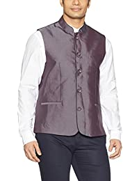 Indigo Nation Men's Poly Viscose Waistcoat