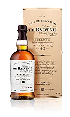 The Balvenie 30 Year Old Single Malt Whisky 70cl Bottle (Case of 6)