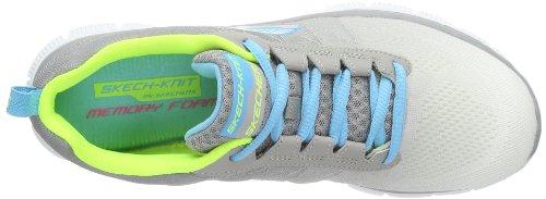 Skechers Flex Appeal New Arrival, Chaussures de sports en salle femme Blanc (Wgy)