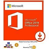 MS Office 2019 Professional Plus 32 Bit & 64 Bit - Original License Key by Post and E-mail + TPFNet® Guide - Shipping Maximum 60min