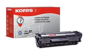 Kores Tonerkartuschen für Modell Laserfax L 100, 120, 2000 Seiten, schwarz