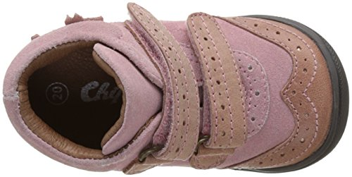 Chipie Kavel, Bottines Chukka Fille Rose (Rose)
