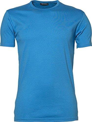 TJ520 Mens Interlock Bodyfit T-Shirt Azure