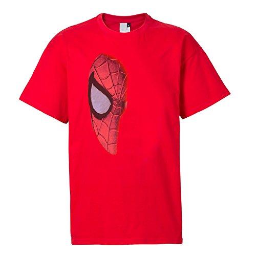 Spiderman T-Shirt Maske rot ()