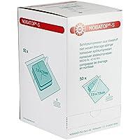 NOBATOP®-S sterile Schlitzkompresse paarweise verpackt 50 x 2 Stück, Größen:7.5 cm x 7.5 cm preisvergleich bei billige-tabletten.eu