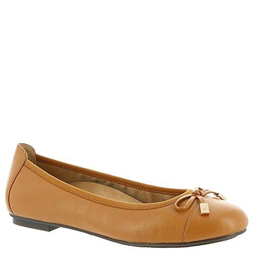 VIONIC Women's Spark Minna Ballet Flat Tan Flat - Tan Ballet Flat