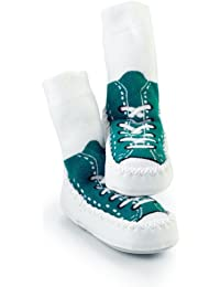 Mocc Ons By Sock Ons TURQUOISE Sneaker size 2-3 Years Months - NEW DESIGN - NEW SIZE!!
