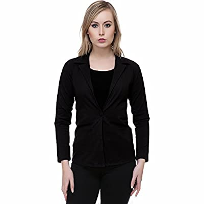 Broadstar Black Lum Lum Summer Blazer For Women