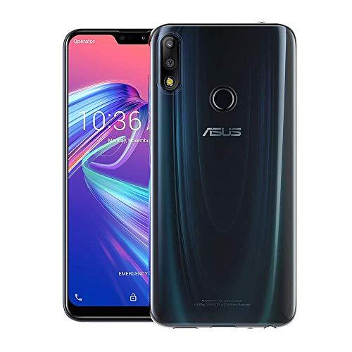 CRESEE ASUS ZenFone Max Pro (M2) Hülle Case, Schutzhülle Soft Transparent Silikon Cover Bumper Stoßfest Handyhülle für ZenFone Max Pro (M2) Klar