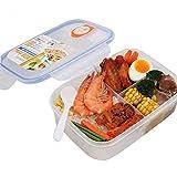OldPAPA brotdose Schule – Kinder Lunchbox/Bento Box/Brotdose mit 3 Fächer Essen zu Gehen Vorratsbehälter für Erwachsene und Kinder