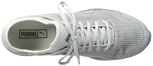 Puma Ignite Sock Woven Toile Baskets Glacier Gray-Steel Gray