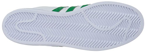 Adidas Mens Superstar Foundation Leather Trainers Ftwwht/Green/Goldmt