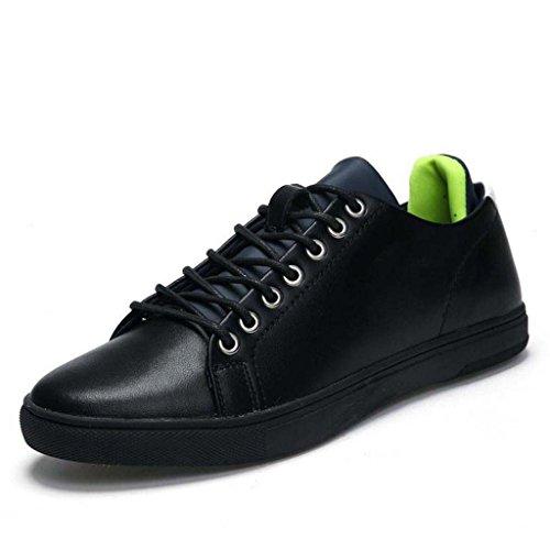 ZXCV Scarpe all'aperto Scarpe da uomo scollatura sportiva scarpe casual Scarpe comode Nero