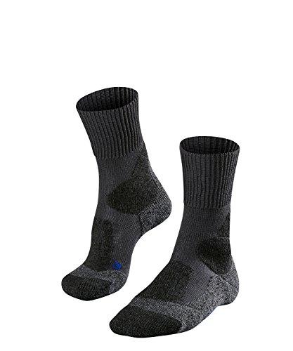 Falke ESS TK1 Cool Chaussettes de Trekking Homme, Asphalt, FR : L (Taille Fabricant : 44-45)