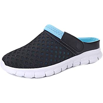 389595a2e068a Yooeen Mesh Sandals Mens Womens Garden Clogs Breathable Summer ...