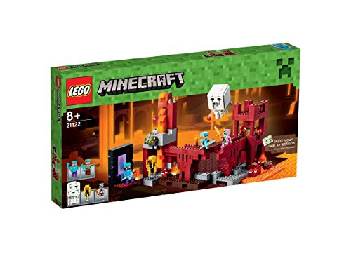LEGO-21122-Minecraft-The-Nether-Fortress-Playset