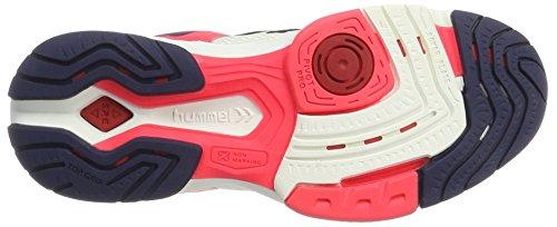 Hummel Aerocharge HB 180 WS, Scarpe Sportive Indoor Donna Bianco (White/pink)