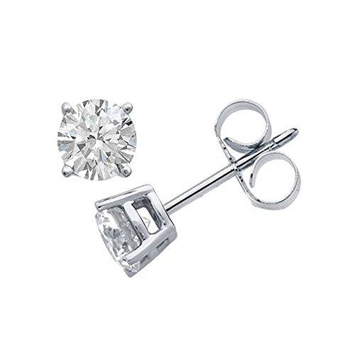 Recarlo - Orecchini punto luce Recarlo in oro bianco 18 kt carati con diamanti
