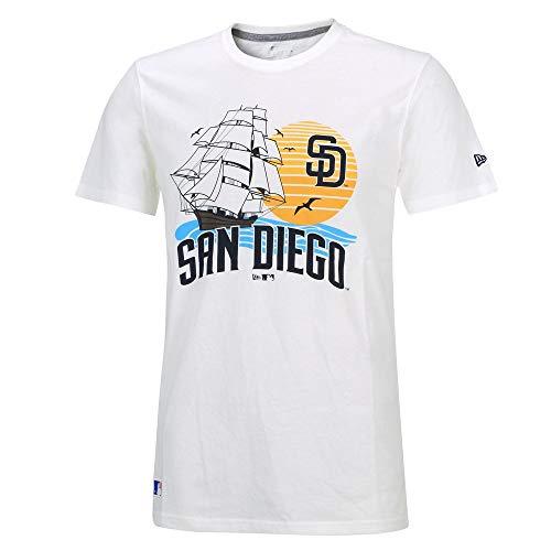 New Era MLB SAN DIEGO PADRES Location T-Shirt, Größe :S