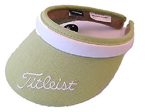 Titleist - Casquette visière - Femme Taille unique vert - Citron vert