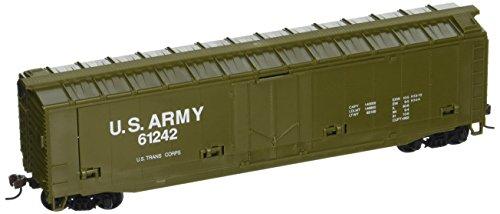 Spur HO Model Power Armée américaine Voitures de cannon