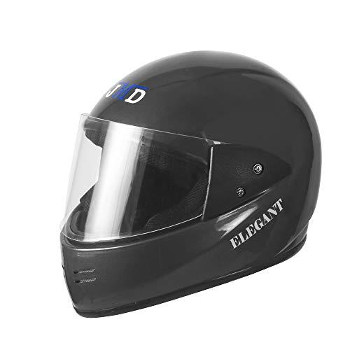 JMD Helmets Elegant Full Face Helmet (Grey, L)