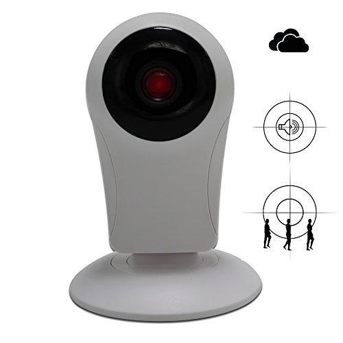 Galleria fotografica Telecamera Videosorveglianza HD 720p IP Camera Wifi Videocamera Visione Notturna Rilevazione Del Movimento Audio a Due Vie