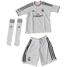 2013-14 Real Madrid Adidas Home Little Boys Mini Kit
