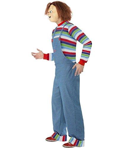 Imagen de traje de chucky el muñeco diabólico disfraz halloween personaje terror alternativa