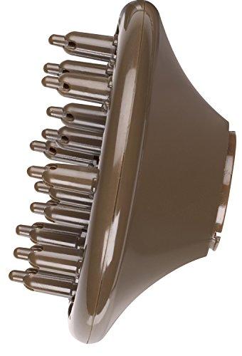 Aeg Htd 5584 Profi-foen Mit 2200 Watt, 3 Temperatur-leistungsstufen, Kaltstufe Für Style Fix, Ionisierungsfunktion, Formdüse (360°), Professioneller Volumen-diffusor, Aufhängöse, In Braunmetallic