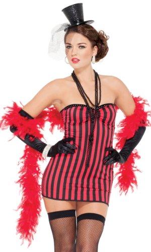 MW Sexy Saloon Girl Mini-Kleid (XS-S)