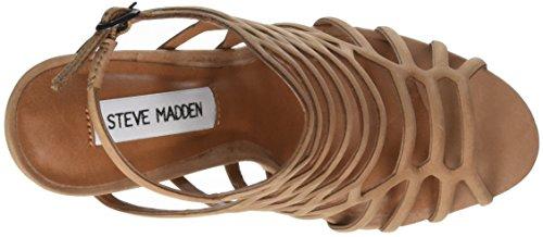 STEVEN by Steve Madden Slithur Sandal, Sandales  Bout ouvert femme Marron (Camel)