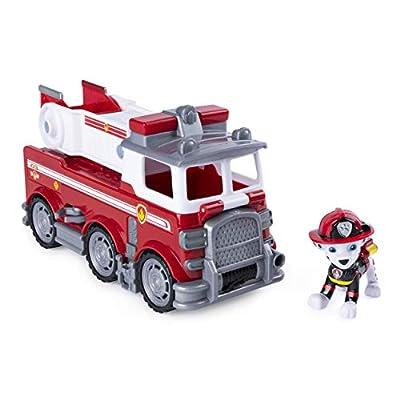 PAW PATROL–Vehículo + Figura Ultimate Rescue Marcus, 6046151 por Spin Master