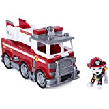 PAW Patrol Ultimate Rescue - Marshall's Ultimate Rescue Fire Truck With Moving Ladder And Flip-Open Front Cab, Ages 3 And Up