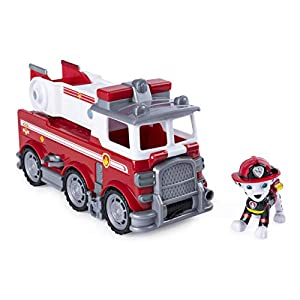 PAW PATROL–Veicolo + Personaggio Ultimate Rescue Marcus, 6046151
