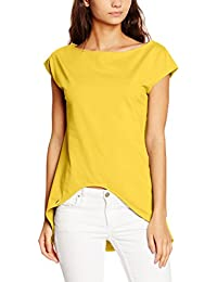 EloModa® Longshirt Asymmetrisch Bluse Tunika in 5 Farben Gr. 36 38 S M, M186