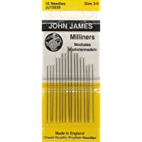 Colonial Needle Milliners Hand needles-size 3/9 16/Pkg