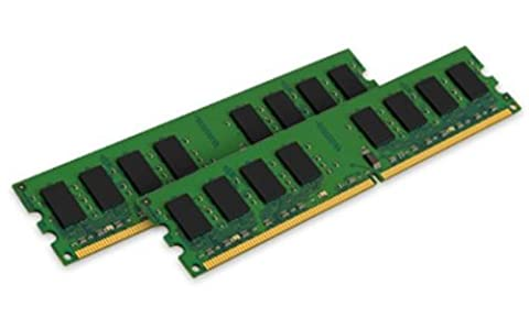 Kingston ValueRAM KVR800D2N6K2/2G PC2-6400 Arbeitspeicher 2GB (NON-ECC, 800 MHz, CL6, 240-polig, 2 x 1 GB) DDR2-SDRAM Kit