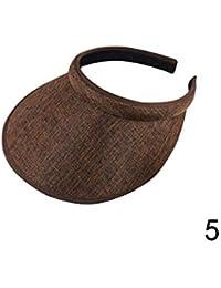 Screenes Sombrero Sombrero para Sol Mujer El Sombrero para para Mujeres  Estilo Simple Chirden Sombrero Visera b1a4971bdc9