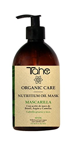 Tahe Organic Care Nutritium Oil Mask Mascarilla Capilar/Mascarilla para Cabello Grueso y Seco, 500 ml