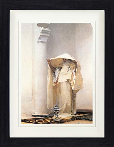 1art1 114301 John Singer Sargent - Der Rauch Von Ambra, 1880 Gerahmtes Poster Für Fans Und Sammler 40 x 30 cm - 1880 Portrait