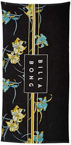 BILLABONG Die Cut Towel, Asciugamano mare per uomo, Nero (Black 19), Large (Taglia...